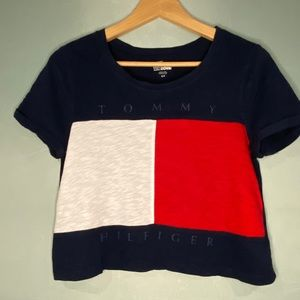 Tommy Hilfiger crop top t-shirt